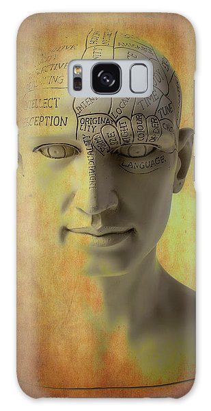 Traits Galaxy Case - Phrenology Head Abstract by Garry Gay