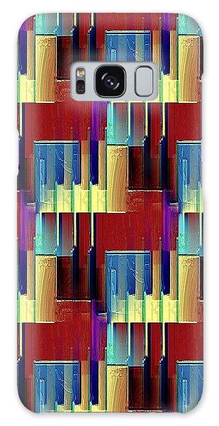 Piano Player Galaxy Case