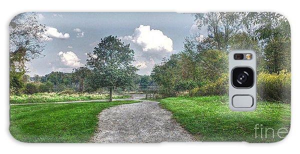 Pickerington Ponds Walkway Galaxy Case