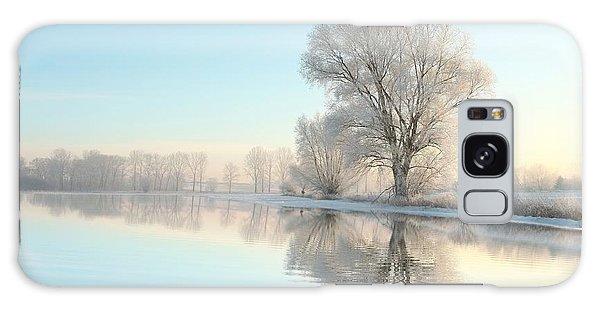 Scenery Galaxy Case - Picturesque Winter Landscape Of Frozen by Paul Aniszewski