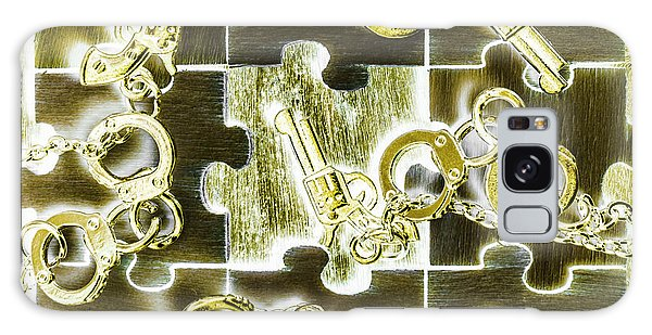 Guns Galaxy Case - Piecing Puzzles Of A Crime by Jorgo Photography - Wall Art Gallery