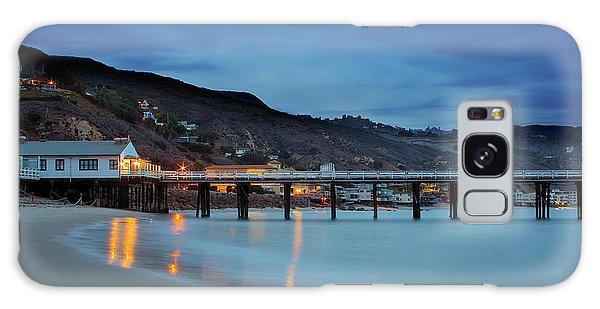 Pier House Malibu Galaxy Case