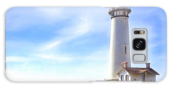 Pigeon Point Lighthouse Ca Galaxy Case