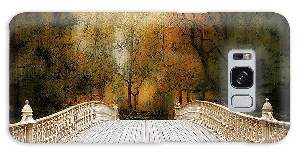 Pine Bank Arch In Autumn Galaxy Case
