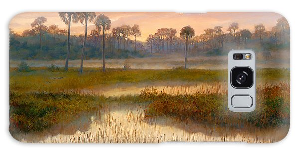 Old Florida Galaxy Case - Pine Glades Sunrise by Laurie Snow Hein