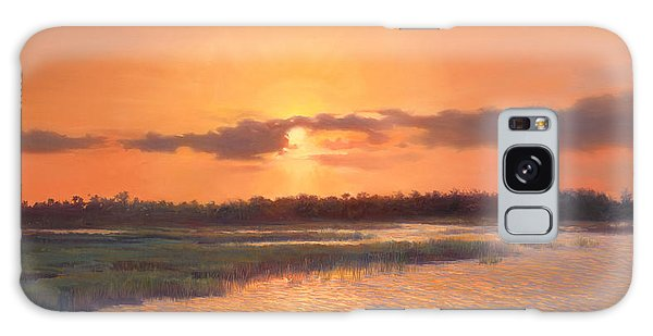 Old Florida Galaxy Case - Pine Glades Sunset by Laurie Snow Hein