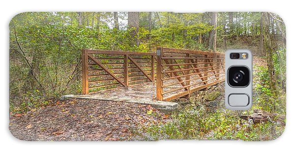 Pine Quarry Park Bridge Galaxy Case
