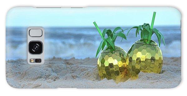 Pineapple Drinks Galaxy Case