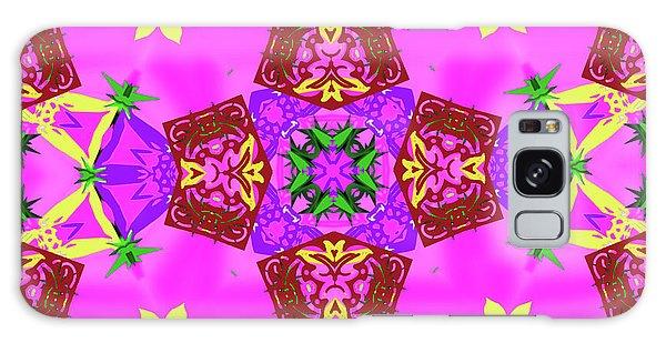 Pink 3 Galaxy Case