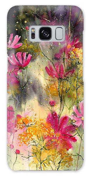 Summertime Galaxy Case - Pink Ballerinas by Suzann Sines