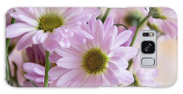 Pink Daisies-1 Galaxy Case