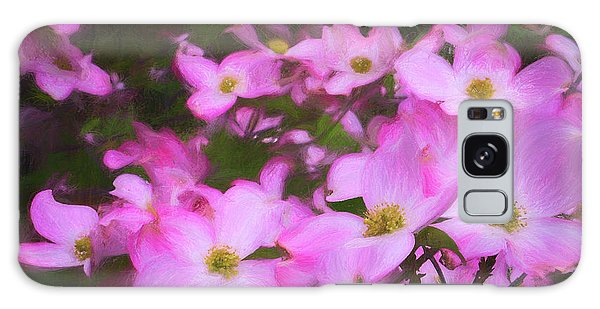 Pink Dogwood Flowers  Galaxy Case