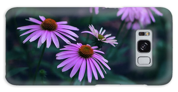 Pink Echinacea Galaxy Case