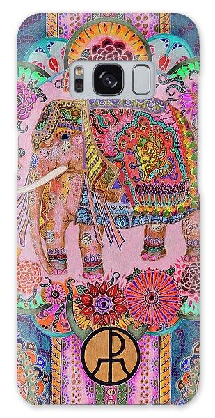 Pink Elephant Galaxy Case