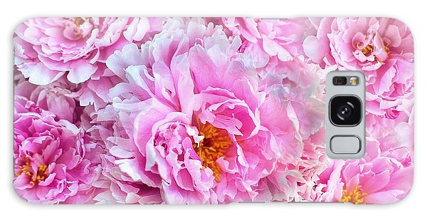Pink Flowers Everywhere Galaxy Case