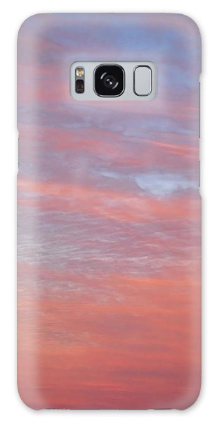 Pink In The Sky Galaxy Case