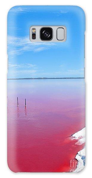 Attraction Galaxy Case - Pink Lake, Western Australia. This Lake by Konrad Mostert