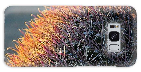 Pink Prickly Cactus Galaxy Case