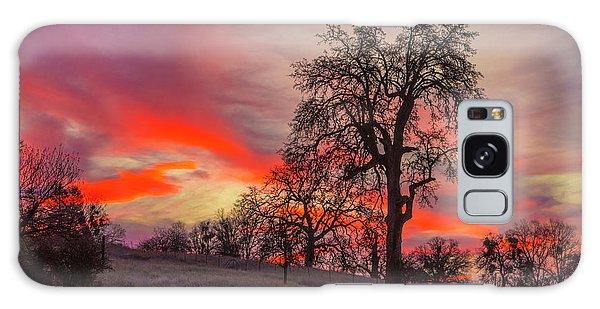 Pink Sunrise Galaxy Case