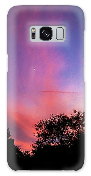 Pink Whisps Galaxy Case