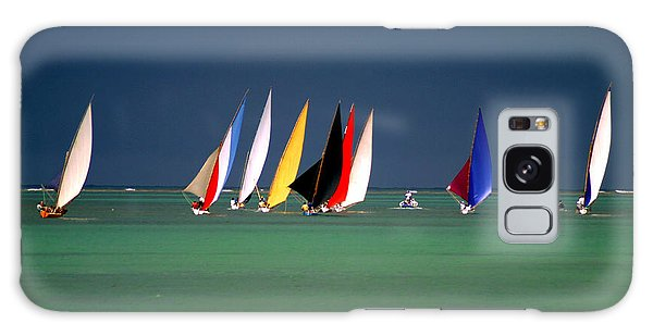 Race Galaxy Case - Pirogues On The Horizon In Front Of by Paul Banton