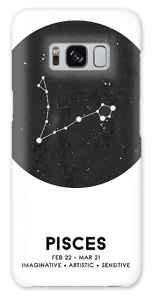 The Sky Galaxy Case - Pisces Print - Zodiac Signs Print - Zodiac Posters - Pisces Poster - Night Sky - Pisces Traits by Studio Grafiikka