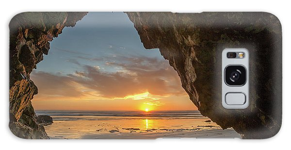Pismo Caves Sunset Galaxy Case