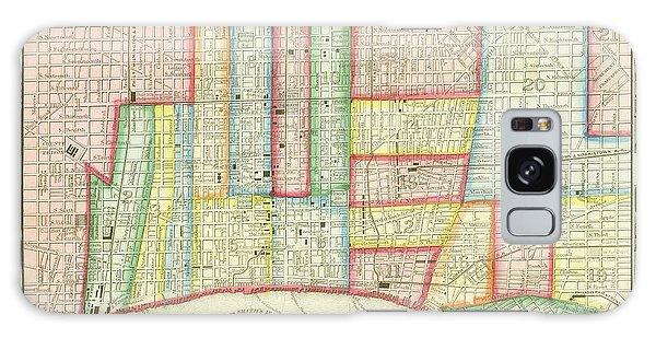 Plan Of Philadelphia, 1860 Galaxy Case