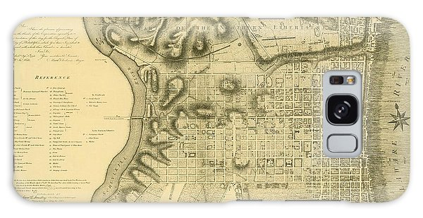 Plan Of The City Of Philadelphia And Its Environs Shewing The Improved Parts, 1796 Galaxy Case