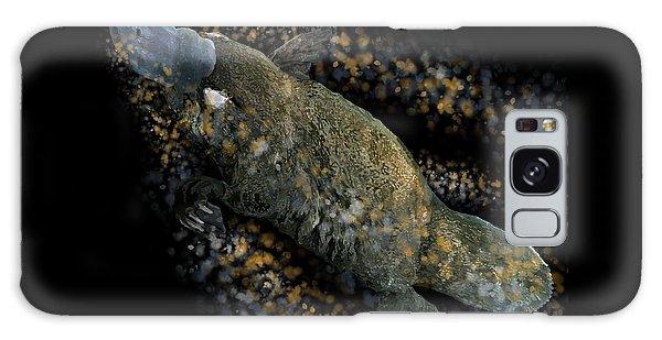 Platypus At Night Galaxy Case