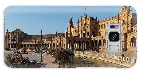 Plaza De Espana Bridge View Galaxy Case