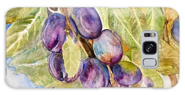 Plums On The Vine Galaxy Case