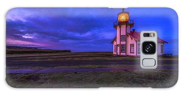 Point Cabrillo Light Station - 3 Galaxy Case