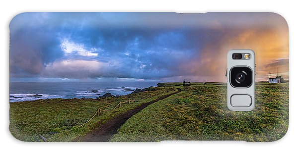 Point Cabrillo Light Station Panorama Galaxy Case