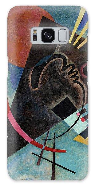 Russian Impressionism Galaxy Case - Pointed And Round - Spitz Und Rund by Wassily Kandinsky