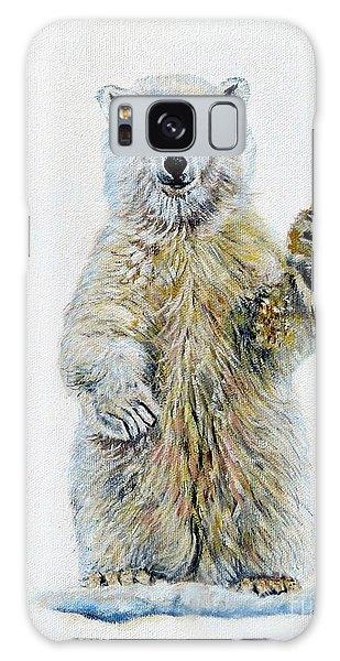Polar Bear Baby Galaxy Case