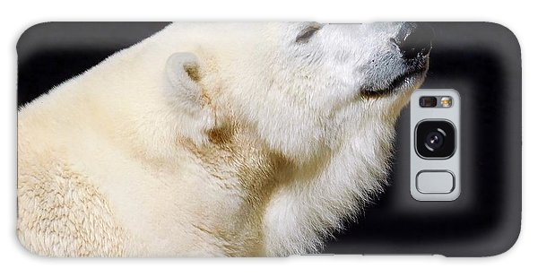 Galaxy Case featuring the photograph Polar Bear by Dan Miller