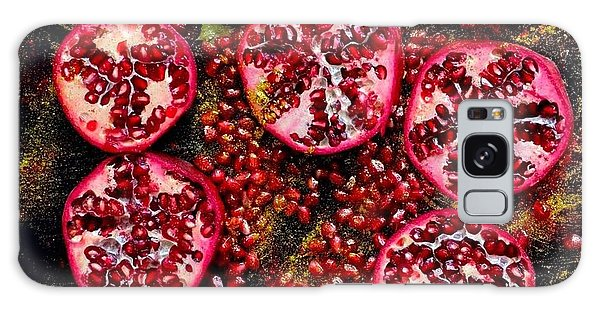 Pomegranate New Year Galaxy Case