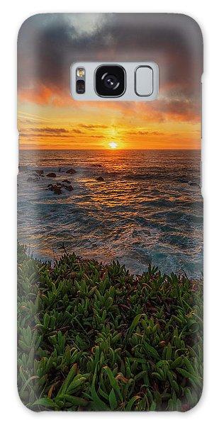 Pomo Bluffs Sunset - 2 Galaxy Case
