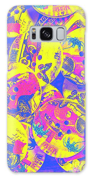 Automobile Galaxy S8 Case - Pop Art Garage  by Jorgo Photography - Wall Art Gallery