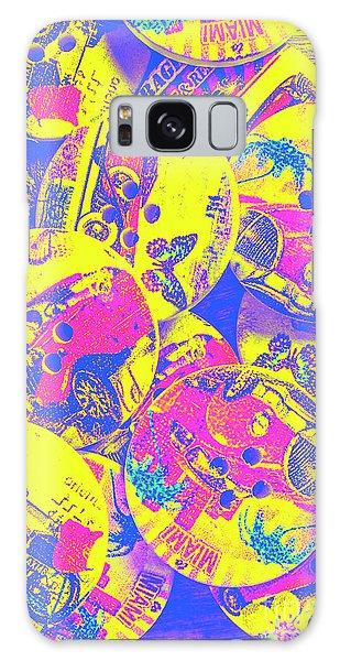Automobile Galaxy Case - Pop Art Garage  by Jorgo Photography - Wall Art Gallery