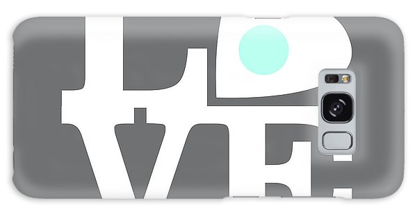 Sixties Galaxy Case - Pop Art Love In Gray by Delphimages Photo Creations
