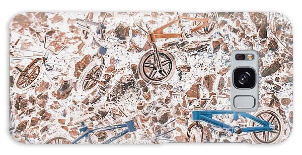 Race Galaxy Case - Pop Art Mountain Ride by Jorgo Photography - Wall Art Gallery
