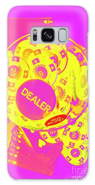 Neon Galaxy Case - Pop Art Poker by Jorgo Photography - Wall Art Gallery