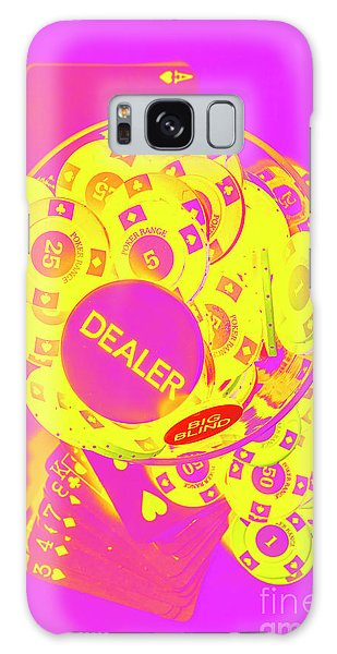 Gamble Galaxy Case - Pop Art Poker by Jorgo Photography - Wall Art Gallery