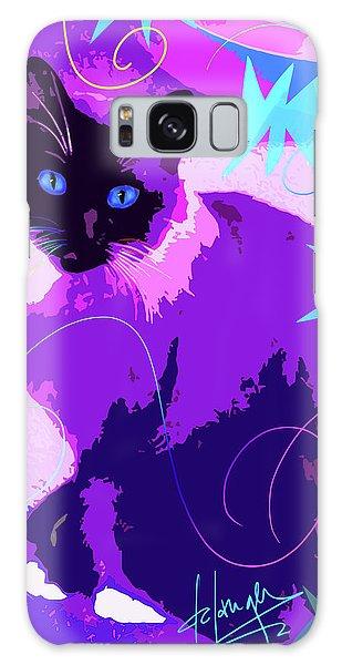 Pop Cat Cocoa Galaxy Case