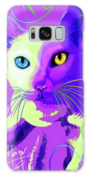 pOp Cat Cotton Galaxy Case