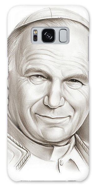 Jan Galaxy Case - Pope John Paul II by Greg Joens