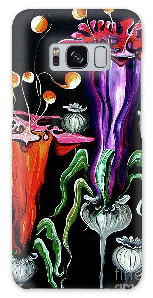 Poppies Fantasy.. Galaxy Case