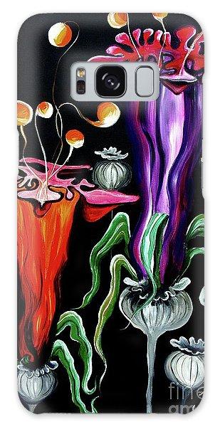 Poppies Fantasy.. Galaxy Case